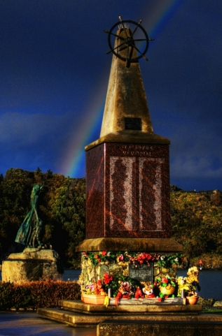 Memorial Rainbow by Steve Halverson